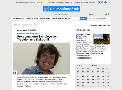 Deutschlandfunk Home Page